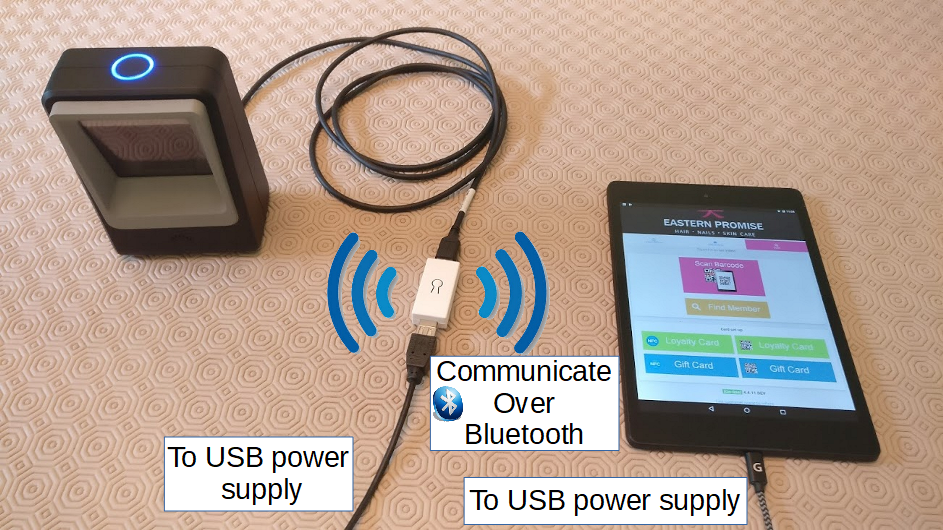 USB to Bluetooth Adaptor
