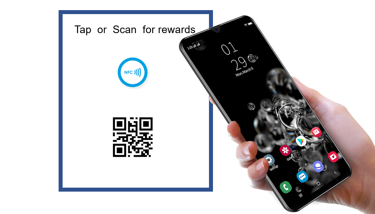 Earn rewards without an app